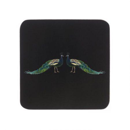sophie allport peacock coasters