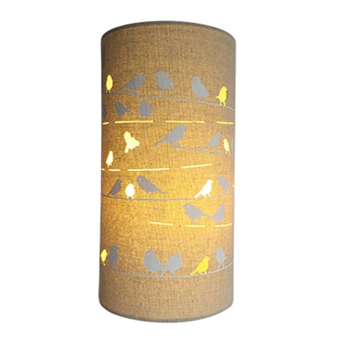 Birds Fabric Lamp | Lighting