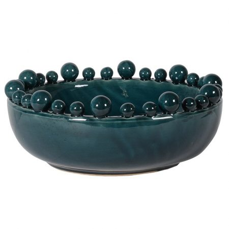 teal bobble bowl