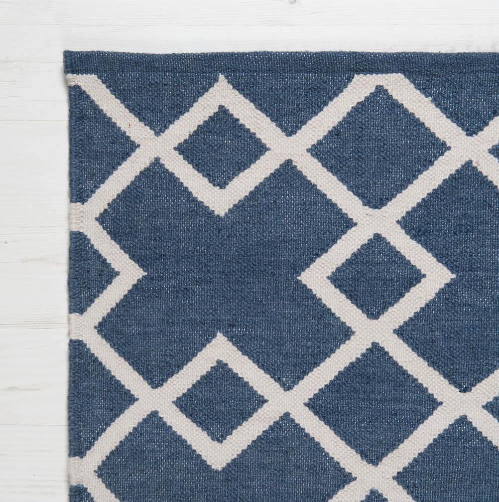 Juno Recycled Rug Navy | Outdoor Gifts