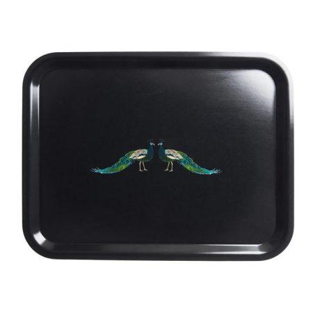 sophie allport peacocks small tray