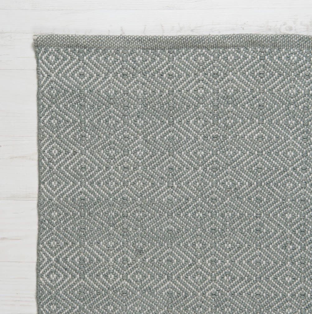 Diamond Recycled Rug Grey | Outdoor Gifts