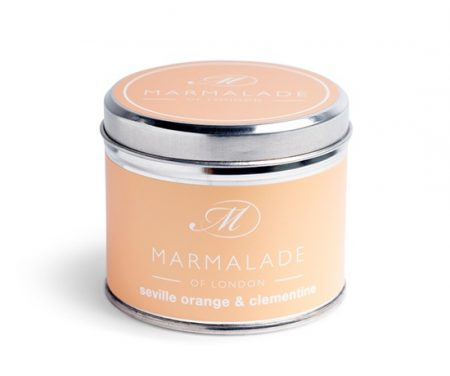 seville orange clementine tinned candle