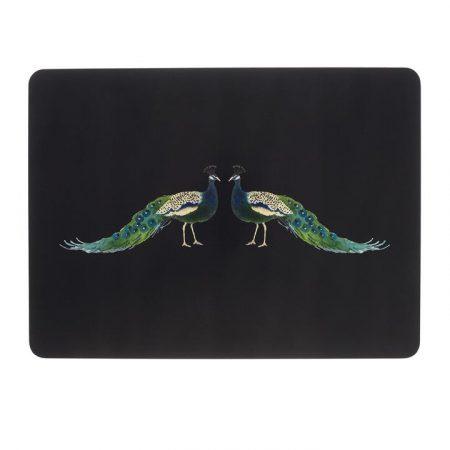 sophie allport peacocks placemats set