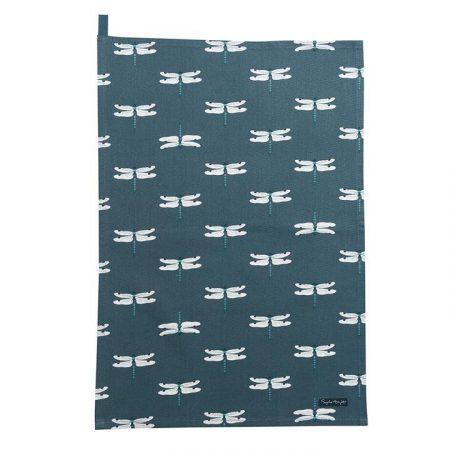 sophie allport dragonfly tea towel