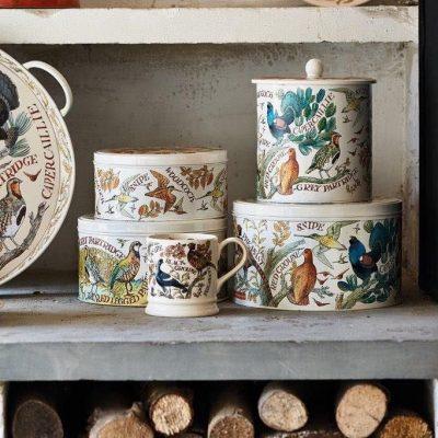 Tins and Kitchen Storage