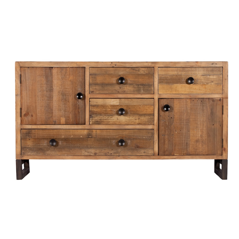 newland reclaimed wood wide sideboard