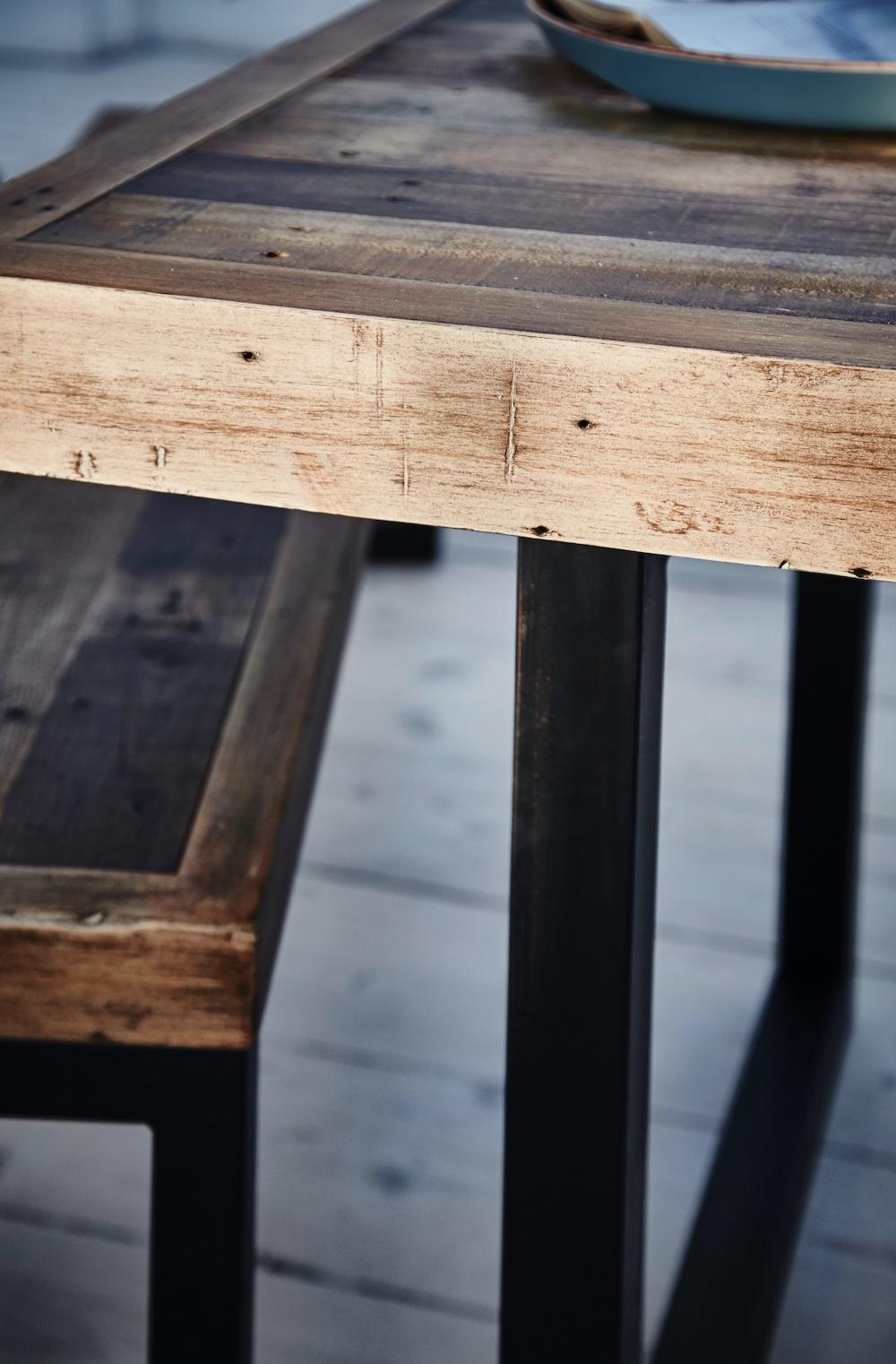 Newland dining table leg