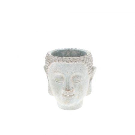 Buddha head planter pot