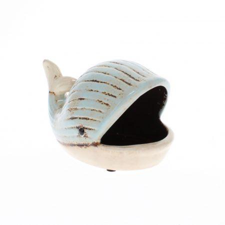 small ceramic whale dish