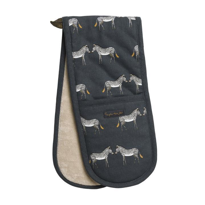 sophie allport zebra double oven gloves