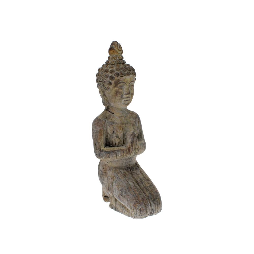Kneeling Bhudda Garden Statue