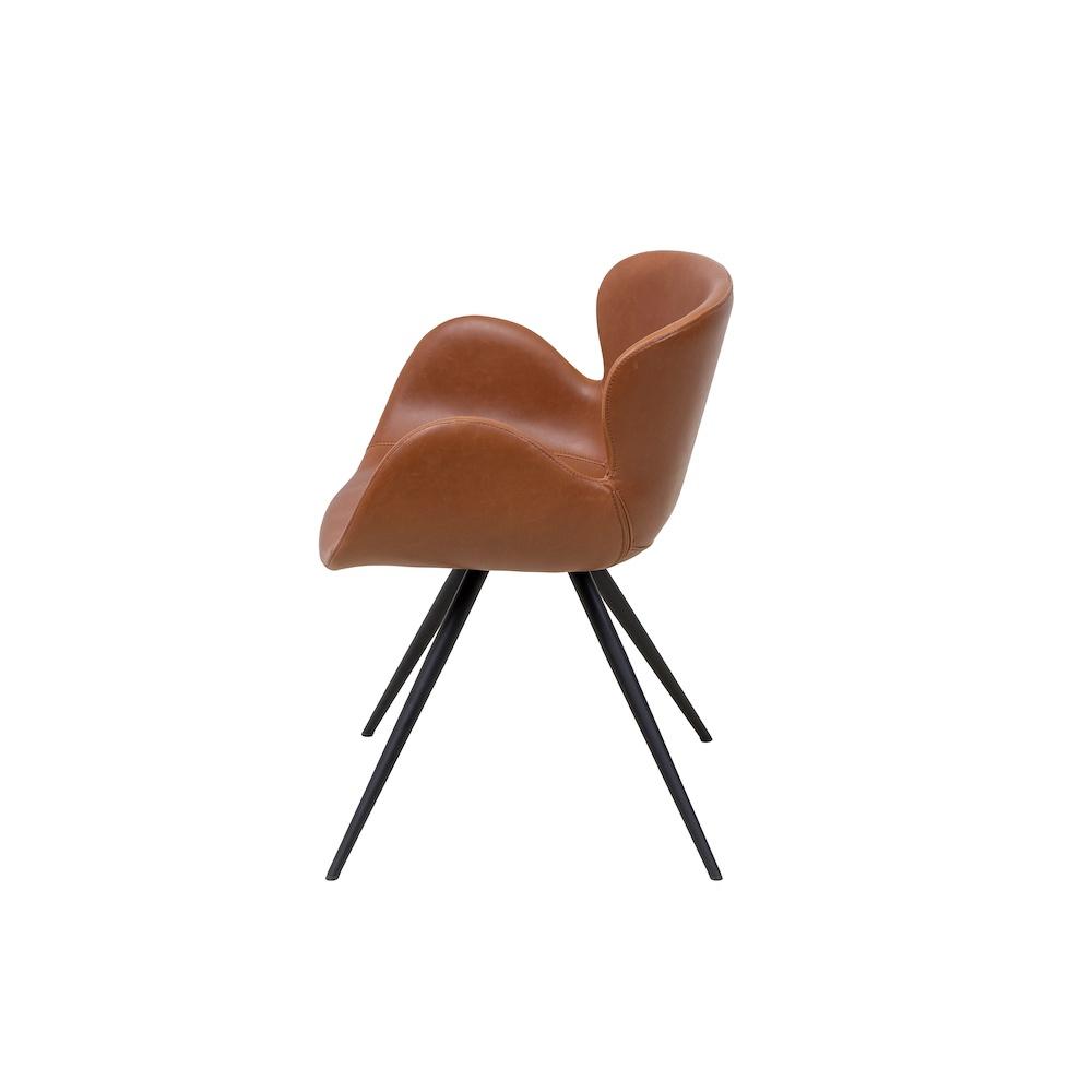 Vintage Brown Gaia Dining Chair