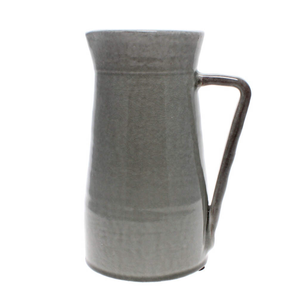 large grey jug