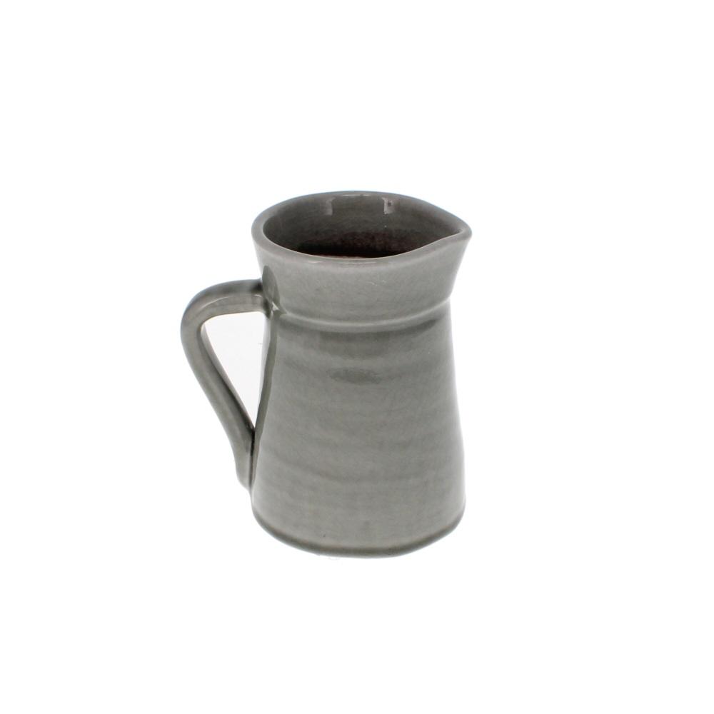 small grey jug