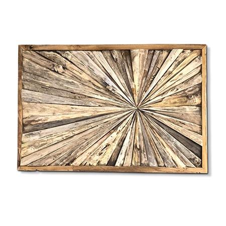 root wood wall art panel