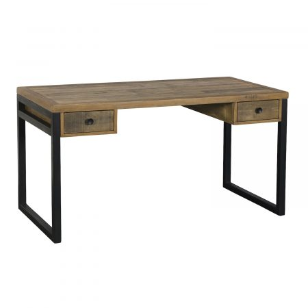 newland desk desk two drawers