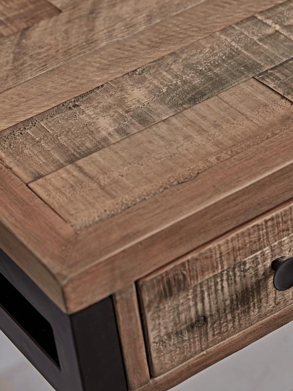 newland desk reclaimed wood