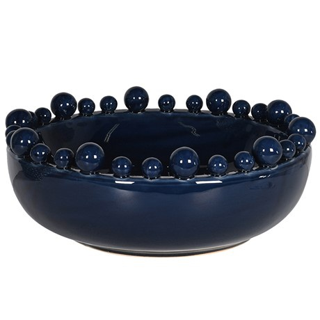 dark blue bobble bowl