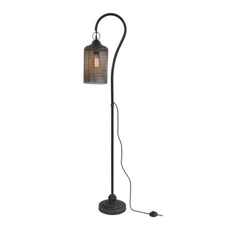 lattice floor lamp