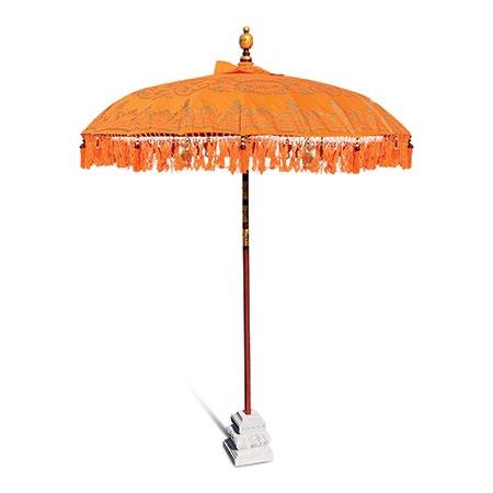 Bali sun parasol orange