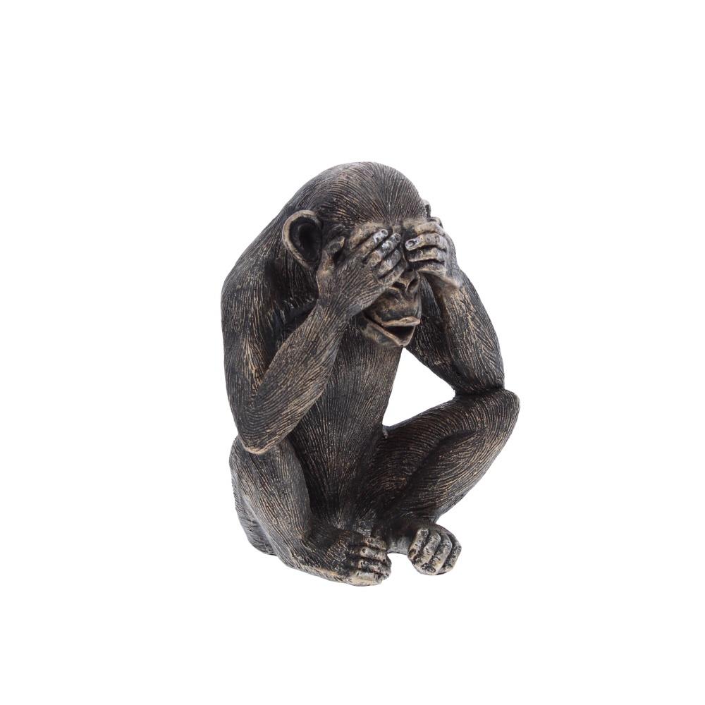 see no evil monkey sculpture