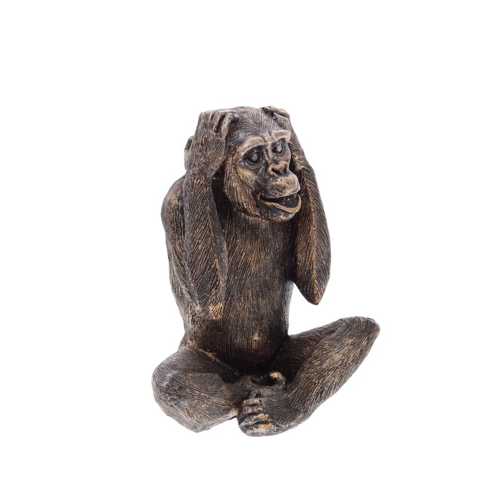 hear no evil monkey sculpture