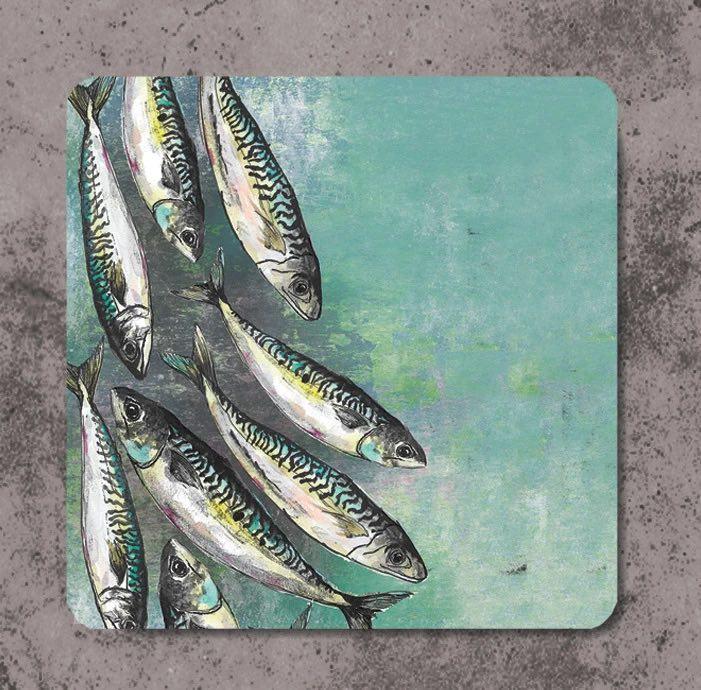 mackerel coasters
