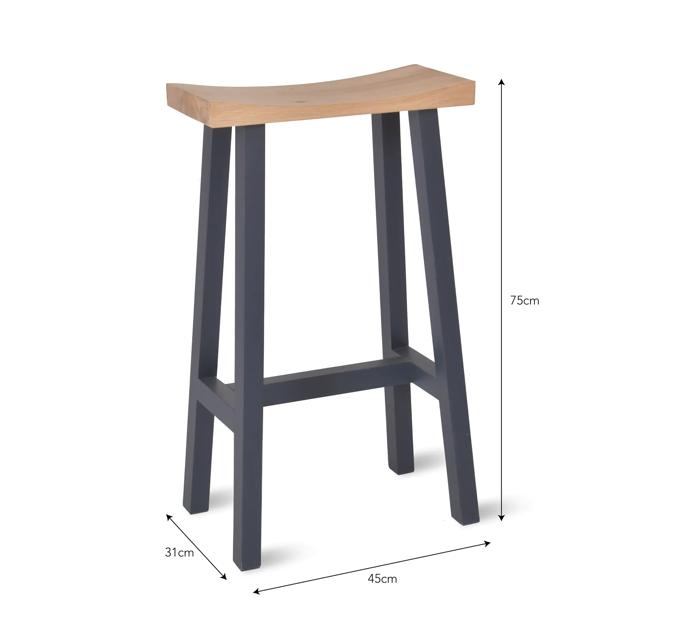 Newland Bar stool dimensions