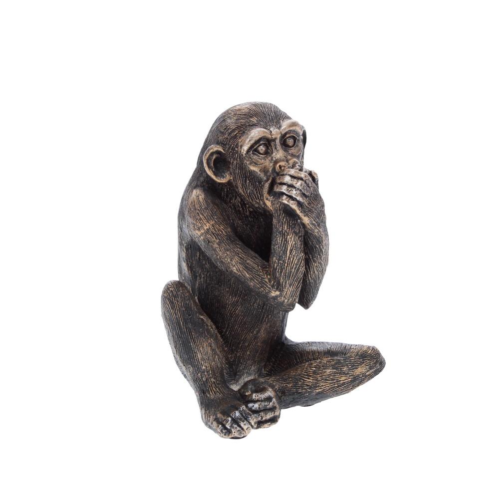 speak no evil monkey sculpture