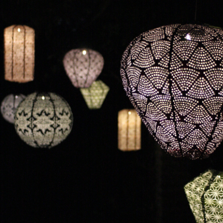 solar powered paper lanterns