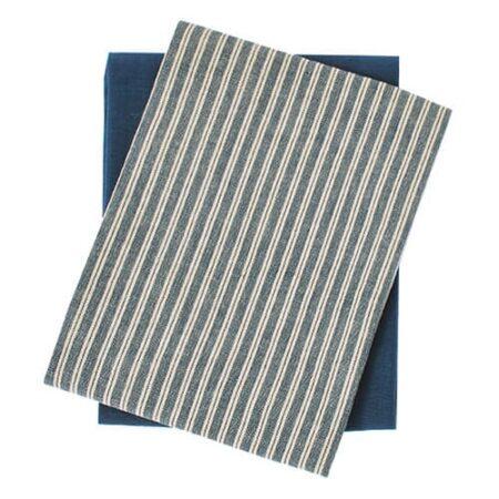 Hampton Stripe tea towel set