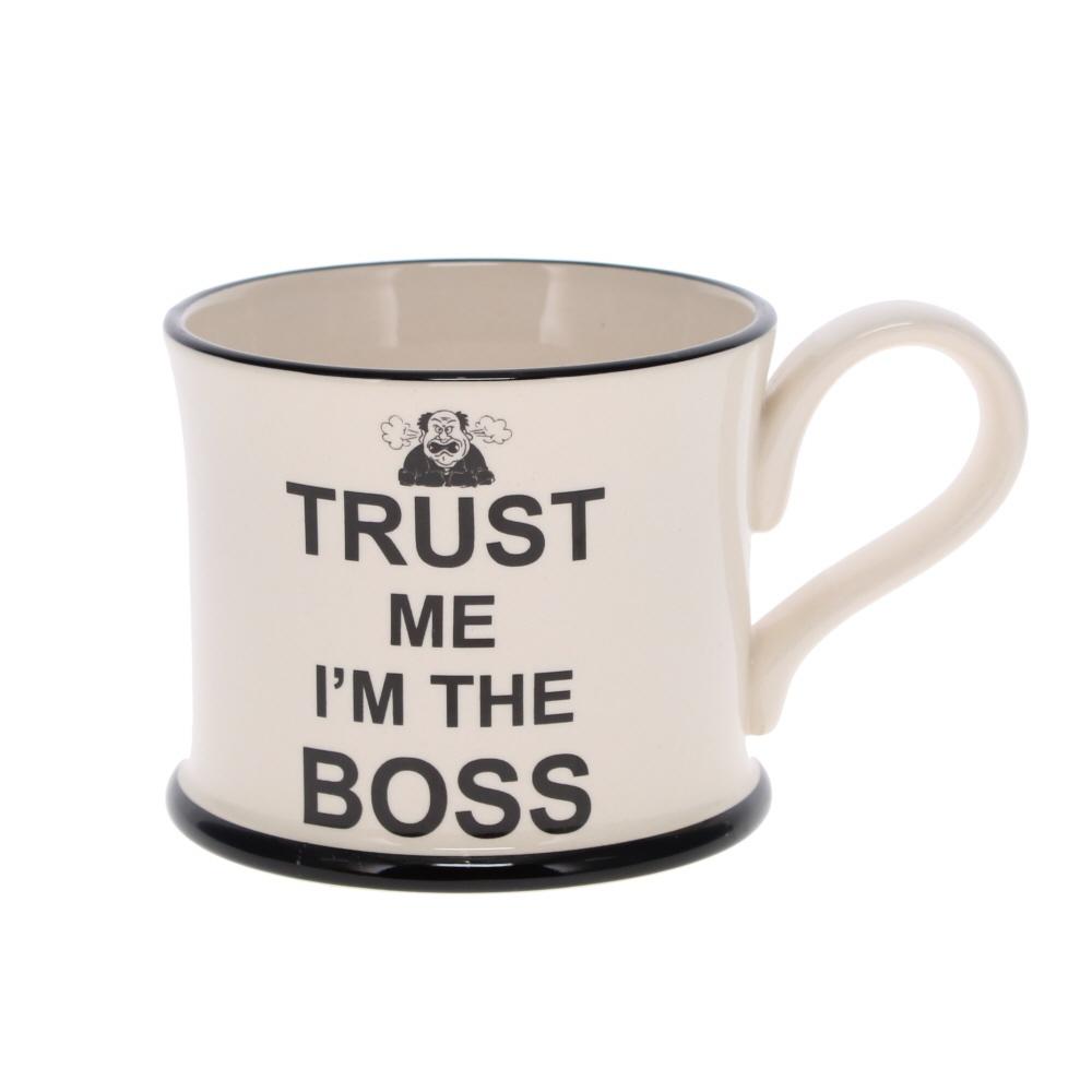 trust me I'm a boss mug