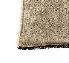 linen cotton cushion charcoal material