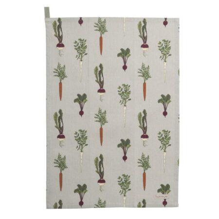 sophie allport home grown tea towel