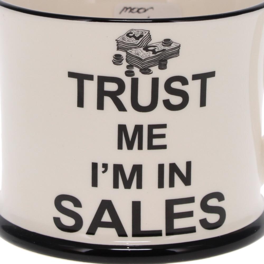 trust me I'm in sales mug