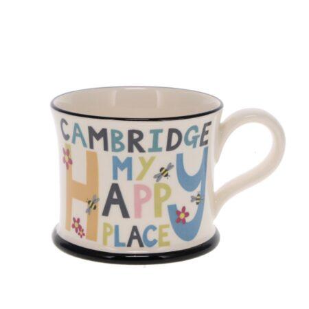 Cambridge is my happy place mug
