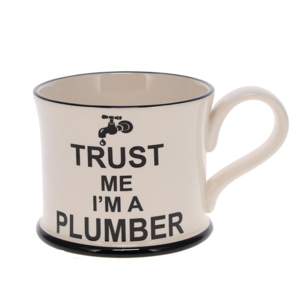 trust me I'm a plumber mug