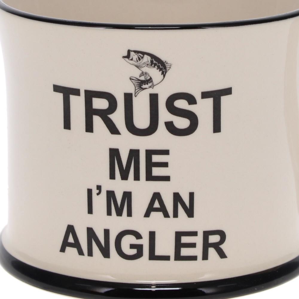 trust me I'm an angler mug