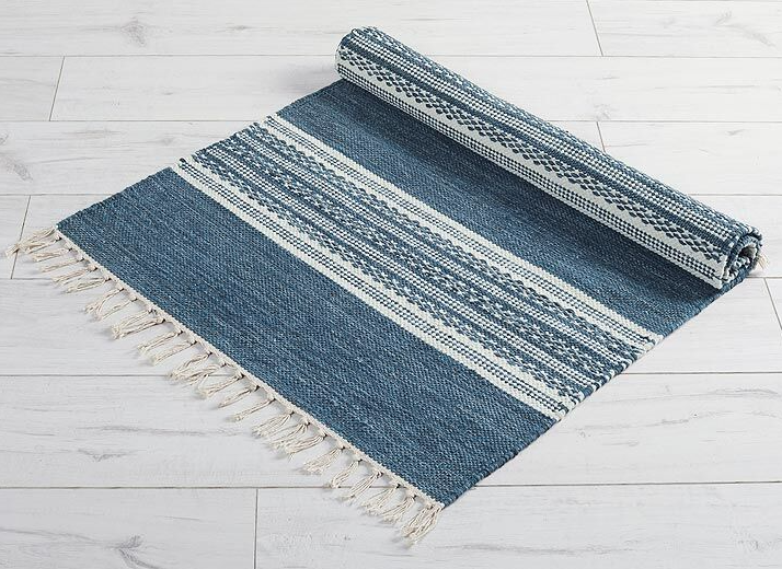 austell rug in classic blue