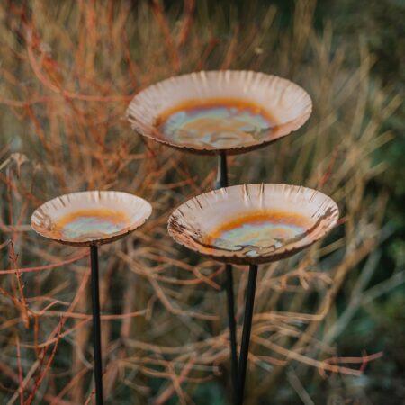 copper chalice set of three