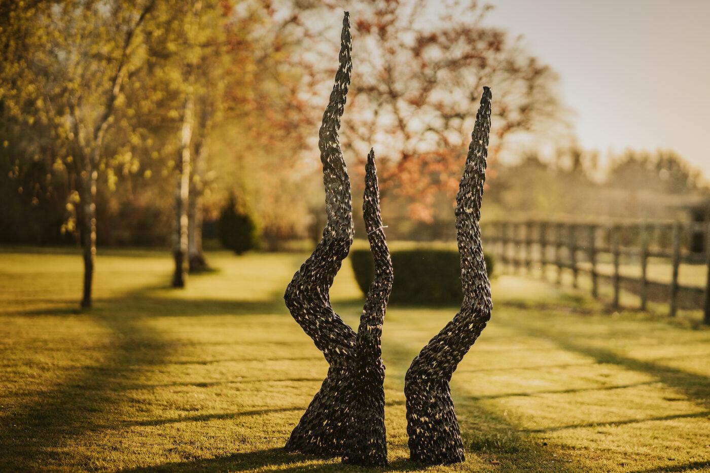 recycled metal garden sculptures