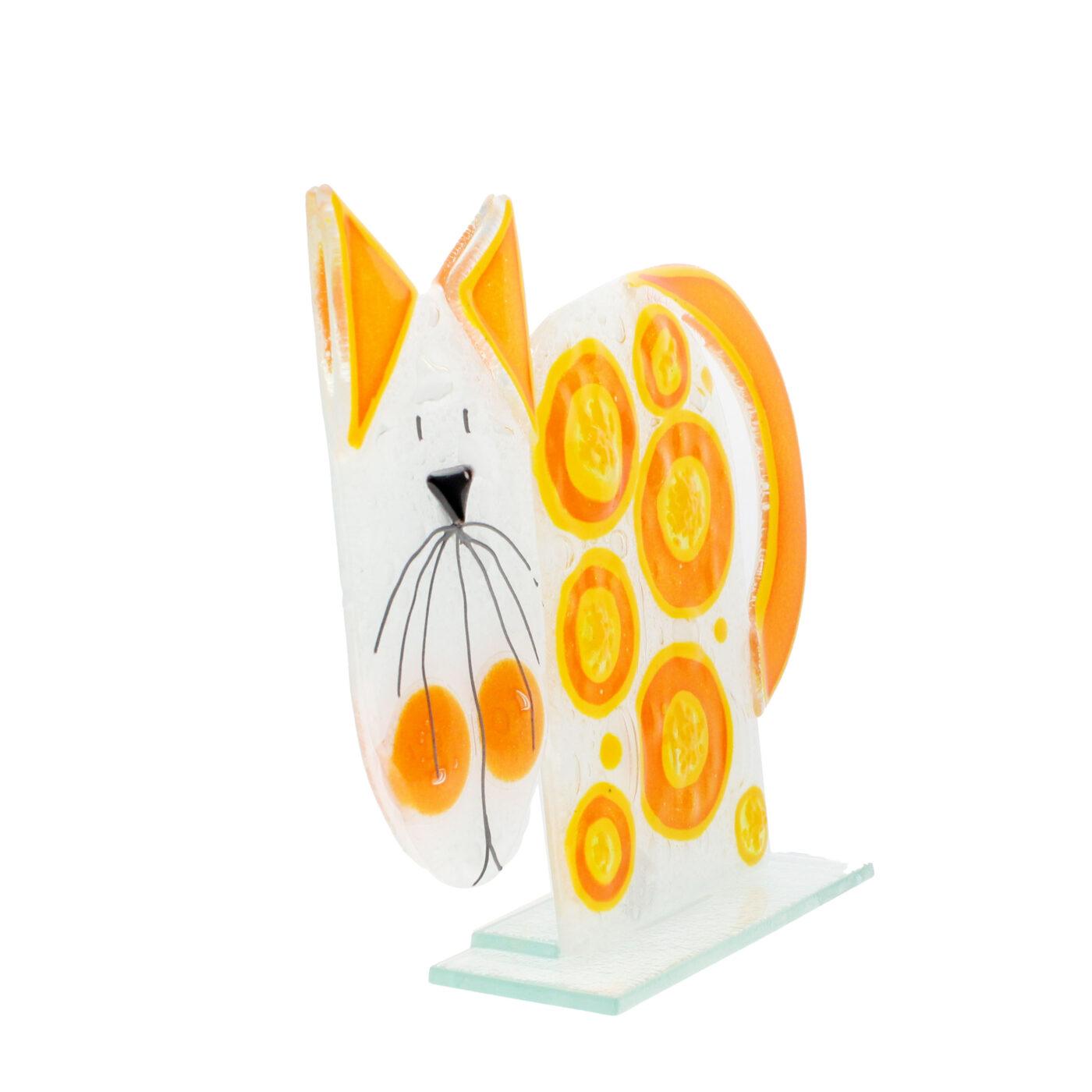 glass ginger cat