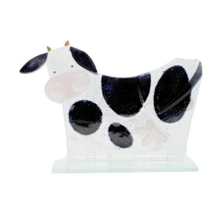 glass moo moo cow large