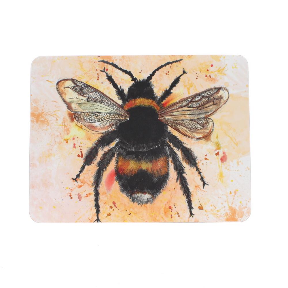 large table mat bumble bee design