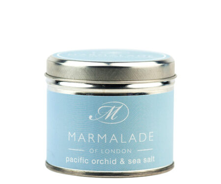 pacific orchid and sea salt tinned candle