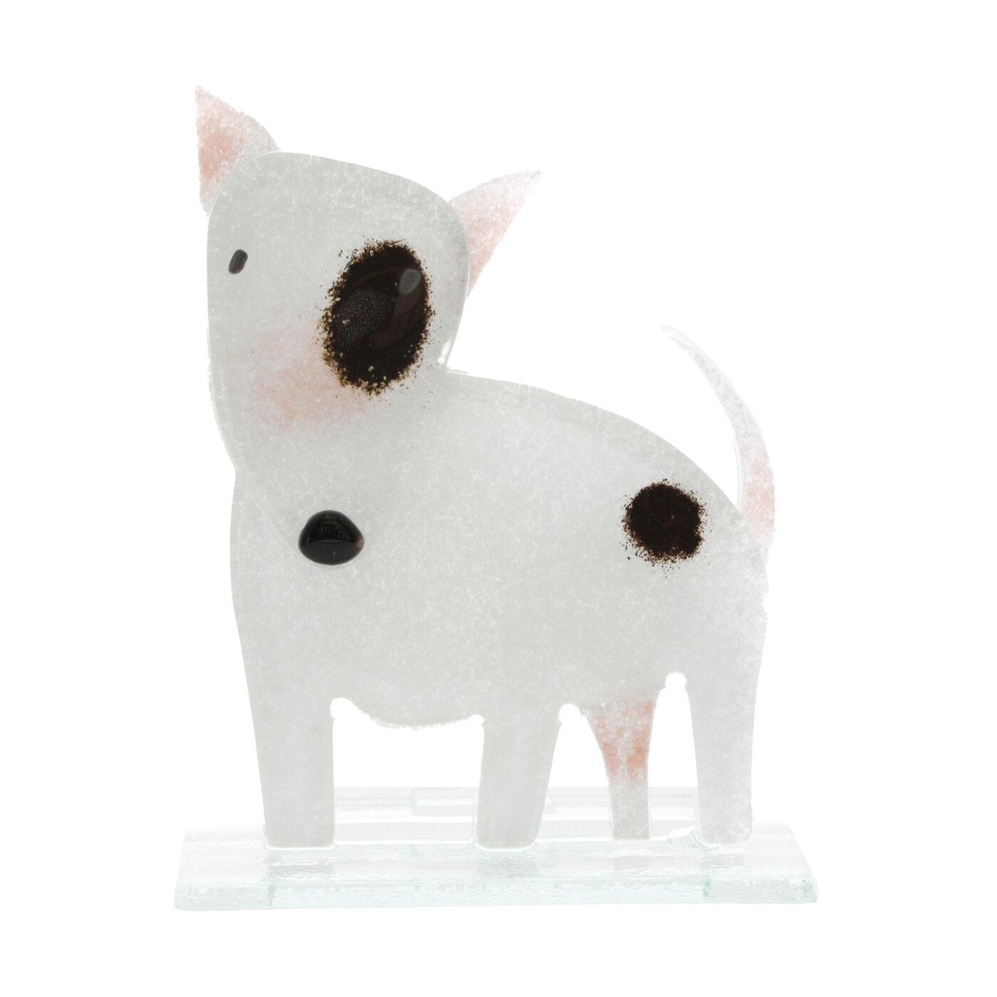 glass bull terrier