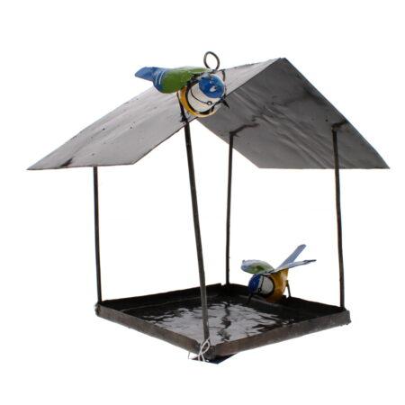 Blue Tit Hanging Bird House