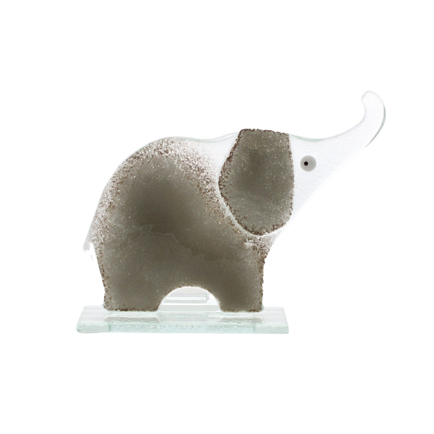 glass elephant