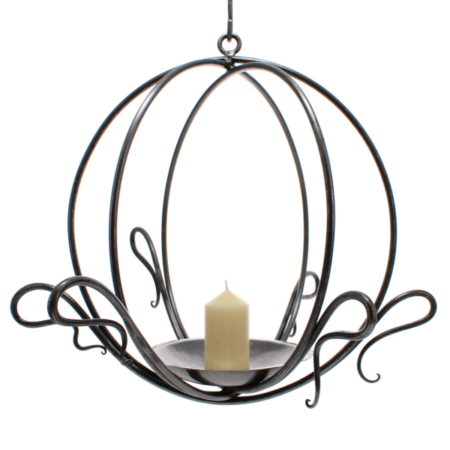 hanging candle globe